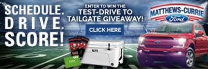 Grapevine Communications Case Study: Matthews-Currie Ford Web Banner
